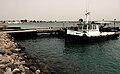 Small tugboat and pier in Obock, Djibouti.jpg