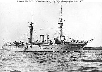 SMS Olga - Olga as a training ship in 1902