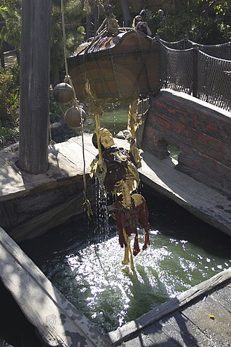 Pirate's Lair on Tom Sawyer Island - The Capstan Wheel