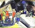 Snow, Winter in Vitebsk by Marc Chagall, 1911.jpg