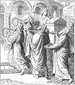 Solomon brings the ark into the temple.jpg