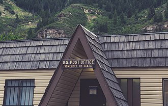 Somerset, Colorado - Somerset Post Office, July 2016