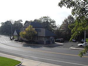 Somerville station - Historical building, former train station, 2008
