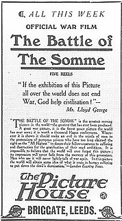 <i>The Battle of the Somme</i> (film)