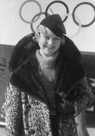 Sonja Henie - Sonja Henie at the 1936 Olympics