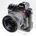 Sony Alpha ILCE-7R grip 2014 CP+.jpg