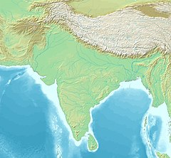Toramana is located in South Asia