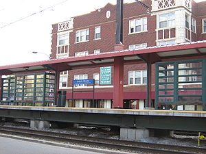 South Shore (Metra station) - Image: South Shore Metra Station