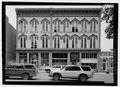 South elevation - Charles Ilfeld Building, 224 North Plaza, Las Vegas, San Miguel County, NM HABS NM-207-2.tif