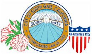 South Gate, California - Image: South gate california seal