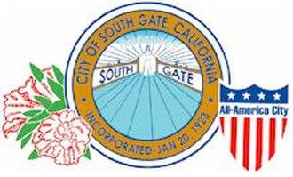 South Gate, California - Image: South gate california seal
