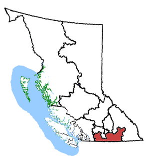 British Columbia Southern Interior