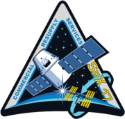 NASA SpX-17 mission patch