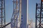 SpaceX CRS-9 Falcon 9 on pad (28472973576).jpg