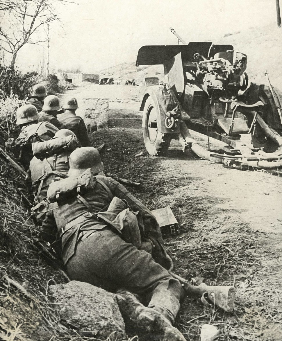 Spanish soldiers at the Eastern Front