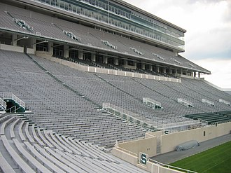 Spartan Stadium (East Lansing, Michigan) -  2008