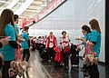 Special Olympics World Winter Games 2017 arrivals Vienna - Canada 07.jpg