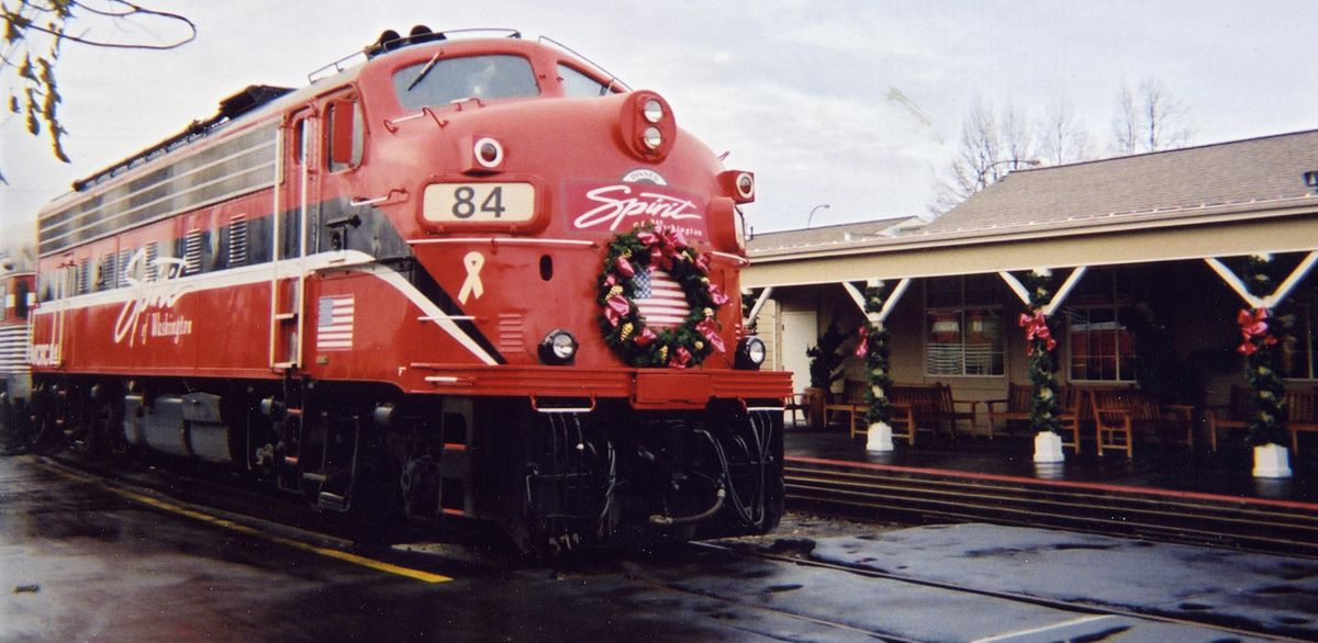 Seattle dinner train spirit of washington