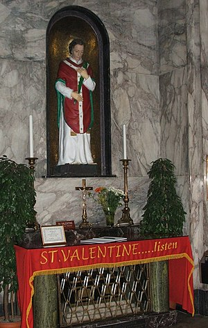 Whitefriar Street Carmelite Church - Shrine of St. Valentine