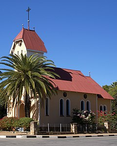 St. Barbara Church - Tsumeb