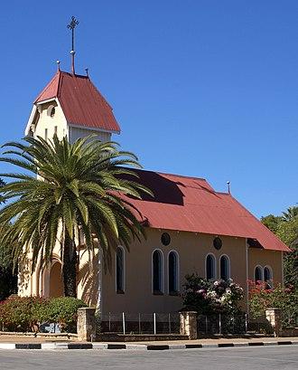 Tsumeb - St. Barbara Church - Tsumeb