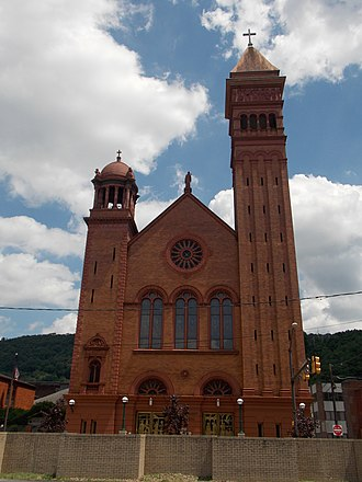 Roman Catholic Diocese of Altoona–Johnstown - St. John Gualbert Cathedral in Johnstown