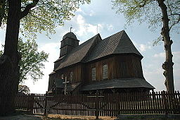 St. Matthias wooden church, Trzebicko, Poland.jpg