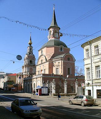 Basmanny District - St. Peter and Paul, built to a drawing by Tsar Peter the Great
