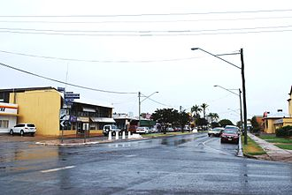 St George, Queensland - Main street of St George