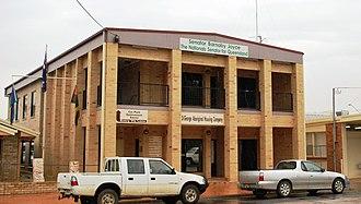 Barnaby Joyce - Barnaby Joyce's old office in St George
