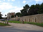 St Osyth's Priory Precinct Wall to South West of Gatehouse
