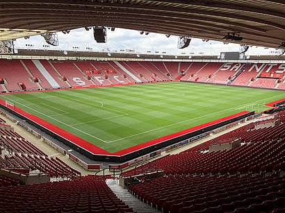 How to get to St. Mary's Stadium with public transport- About the place