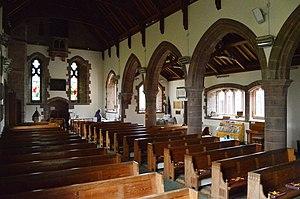 St Mary's Church, Gosforth - Image: St Mary's church gosforth cumbria