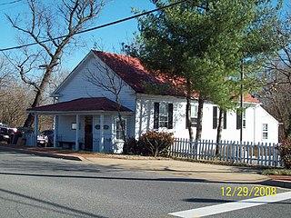 St. Marys Beneficial Society Hall (Upper Marlboro, Maryland) United States historic place