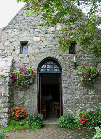 St Tugual's Chapel - The entrance to St Tugual's Chapel