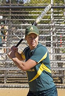 Stacey Porter Australian softball player