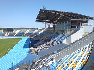 Stadion Zawiszy Bydgoszcz trybuna B