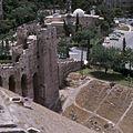 Stadsgezicht vanaf de Citadel met de moskee Al Khosrofieh - Stichting Nationaal Museum van Wereldculturen - TM-20036671.jpg