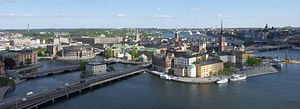 Stockholm bid for the 2022 Winter Olympics - Stockholm City Centre