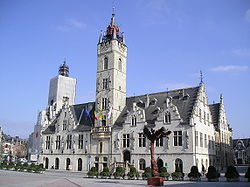 Dendermonde City Hall, Belfry