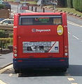 Stagecoach in South Wales bus Optare Solo, Bettws, 9 June 2011.jpg