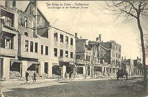 Nesterov - Devastated Stallupönen, 1914
