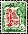 Stamp British Guiana 1954 72c.jpg