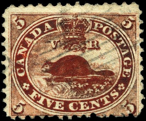 Stamp Canada 1859 5c