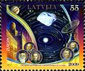 Stamps of Latvia, 2009-09.jpg