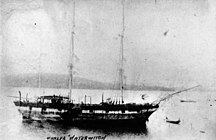 Mast Head Island-Known shipwrecks on the reef-StateLibQld 1 106900 Water Witch (ship)