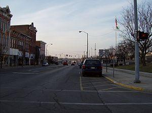 Ohio State Route 31 - Near the northern terminus in Kenton.