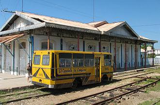 Camajuaní - The old train station