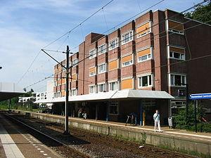 Veenendaal Centrum railway station - Image: Station Veenendaal Centrum