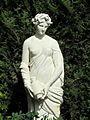 Statue du jardin des iris - Jardin des Plantes.JPG